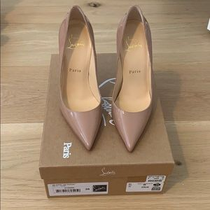 Christian Louboutin So Kate Nude Pumps - NIB 36